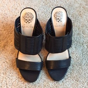 956725f6687 Vince Camuto Shoes - New! Vince Camuto Astar heeled sandal black -7